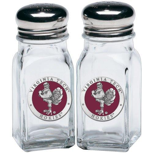 1pc, Pewter Virginia Tech University Salt & Pepper Shakers ()