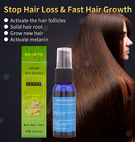 Unique 1pc Fast Hair Growth Products dense hair regrowth essence treatment Women & men postpartum anti hair loss Chinese recipe