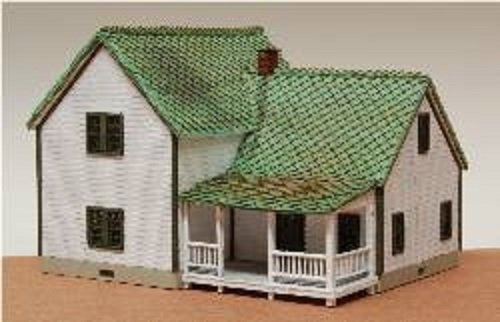 """GC Laser N Scale FARM HOUSE 3"""" X 2-7/8"""" X 2-1/2"""" EZ for sale  Delivered anywhere in USA"""