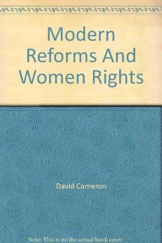 Read Online Modern Reforms And Women Rights PDF