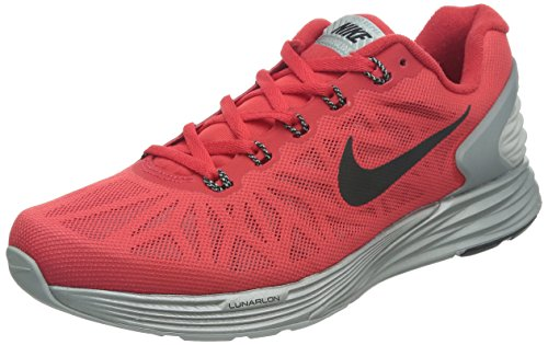 Nike Lunarglide 6 Flash Herren Laufschuhe Action Red / Black-Reflect Silver
