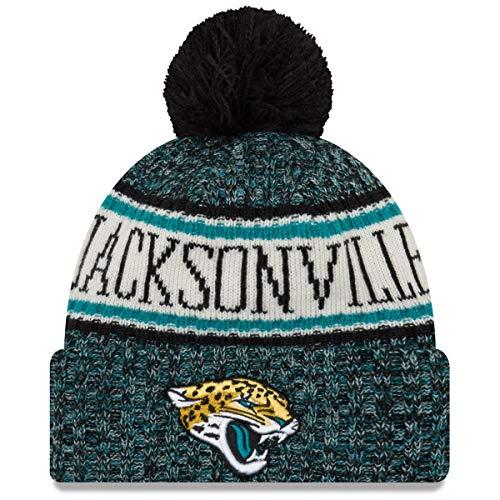 Jaguars ERA NEW Angeles RAMS A Los Azul con Gorro Jacksonville NFL pompón Tejido F6nnHqWA1