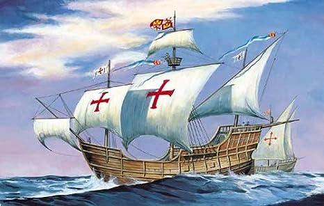 Amazon | セマー 1/270 サンタマリア号 コロンブス旗艦 1492年 ...