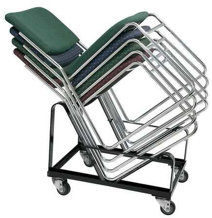 Stacked Chair Dolly (Stacked Chair Dolly, 300 lb. Load Capacity, Holds 20 Chairs)