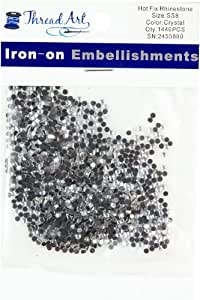 SS8 Crystal Hot Fix Rhinestones 10 Gross (1440 stones/pkg)