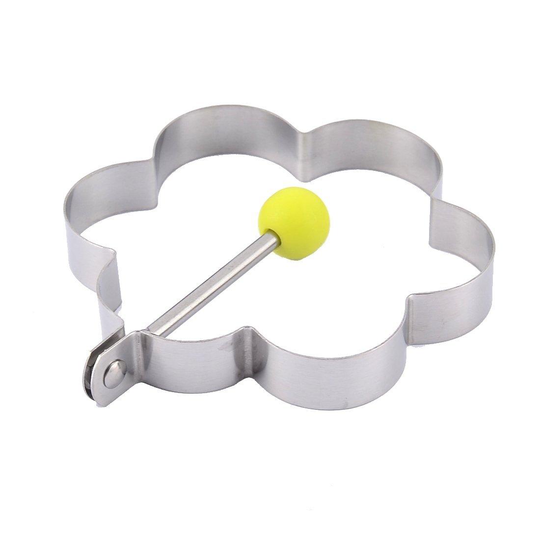 Amazon.com: Forma eDealMax cocina para hornear la flor del anillo del molde de la magdalena de la galleta del huevo que fríe: Kitchen & Dining