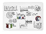 Rocada Rolled Polypropylene Whiteboard, Pack of 5, 39.5'' x 55'' x 0.02'' (RD-P2UV06)
