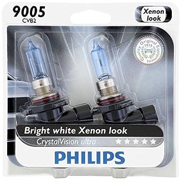 Philips 9005 CrystalVision Ultra Upgrade Headlight Bulb 2 Pack & Amazon.com: Philips 9005 CrystalVision Ultra Upgrade Headlight ... azcodes.com