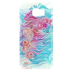 Waves Samsung S6 3D wrap around Case - Design 1