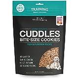 Honest Kitchen Cuddles Natural Hand-Baked Grain-Free Fish and Pumpkin Dog Treat Cookies  12 oz