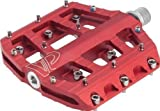 VP Components Vice Downhill or Freeride Pedals (Pack of 2) (9/16-Inch, Red)