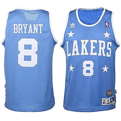 Kobe Bryant Los Angeles Lakers Youth Hardwood Classics Soul Jersey Medium 10-12