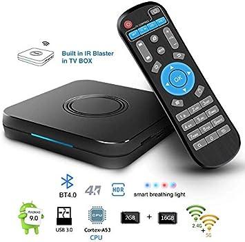 DOOK Android TV Box 2G+16G V1 2020 El más Nuevo Smart TV Box Avec