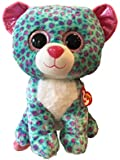 """Ty Beanie Boos Sydney Leopard Large 16"""" (Claire's Exclusive)"""