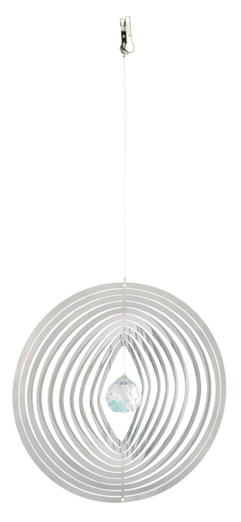 Silver Natures Melody CS05RD 5-Inch Round Cosmo Spinner