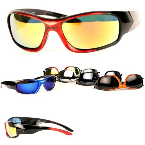 594cb953084 Xloop Gun Medal Frames Vented Triathlon Running Cycling Sunglasses  (B004UMW0AW)