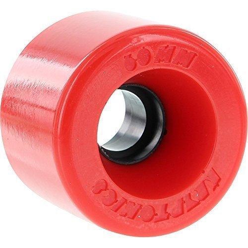 Kryptonics Star Trac rot Longboard Rollen – 60 mm 78 a (Set von 4) von Kryptonics