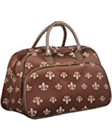 World Traveler Fleur de Lis Duffle Carrying Bag - 22-inch