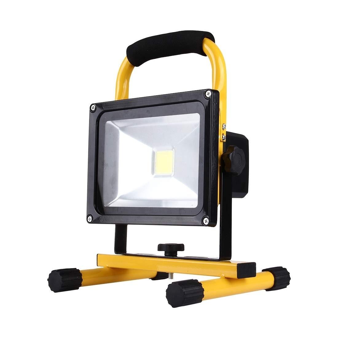 Sandy Cowper Außenbeleuchtung 20W 1800LM Leben Wasserdichte LED wiederaufladbare Handflutlichtlampe, Wechselstrom 100-250V
