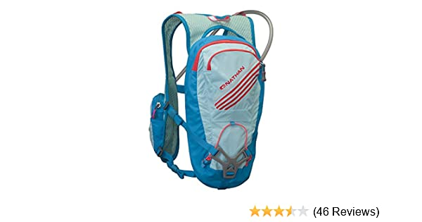 Amazon.com : Nathan Moxy Hydration Pack, 2-Liter, One Size, Blue Danube : Sports & Outdoors