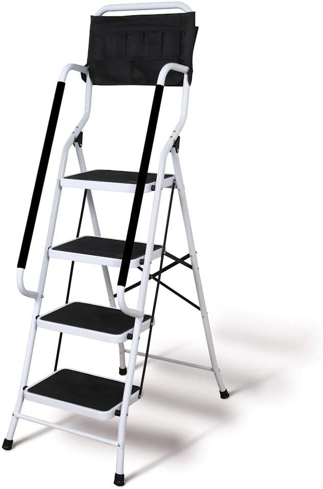 9. Support Plus Folding 4-Step Safety Ladder