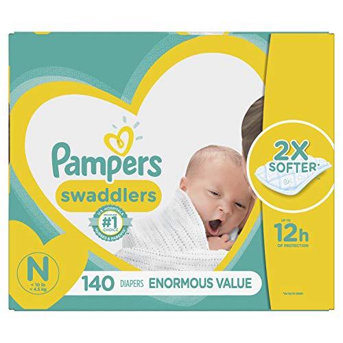 Pampers Swadlers Size N