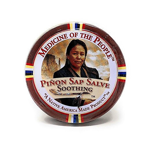 3 Tins of Navajo Medicine Of The People Pinon Sap Burn Salve 0.75 oz each - Powwow