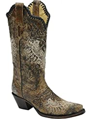 Corral Womens R1222 100% Leather Boot