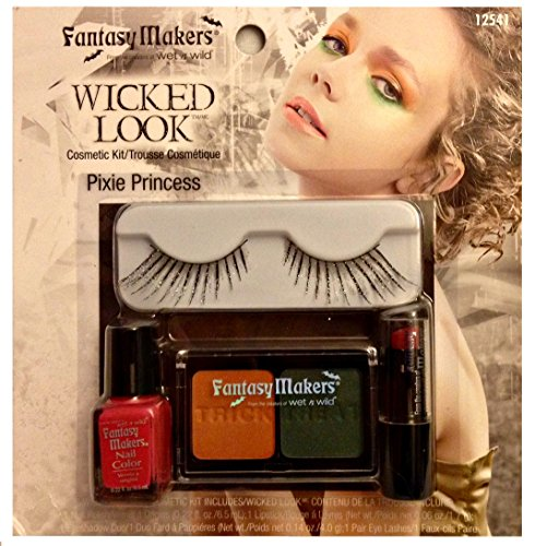 Halloween Makeup Kit Set Fantasy Makers Wicked Look Cosmetic Kit Pixie Princess by Wet n Wild Best Back to School College (Makeup Ideas For Halloween 2017)