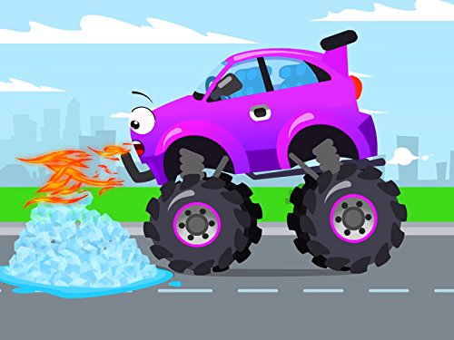Purple Monster Truck and а chili pepper (The Best Gps For Cars 2019)