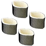 Huiaway Replacement for Holmes HWF75 Humidifier Filter D Also for Holmes HM3500 HM3501 for Sunbeam SCM3501 SCM3502 Replace Humidifier Filter Attachment 4 Pack