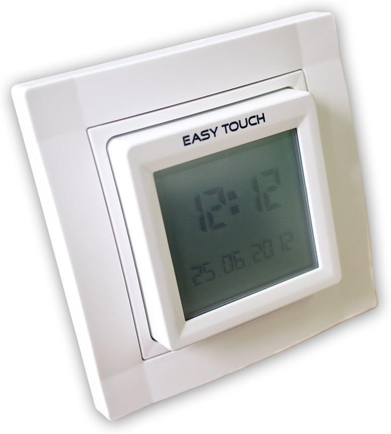Simu Rollladen Zeitschaltuhr Easy Sun  mit Sonnen-// Dämmerungssensor 3,0 m