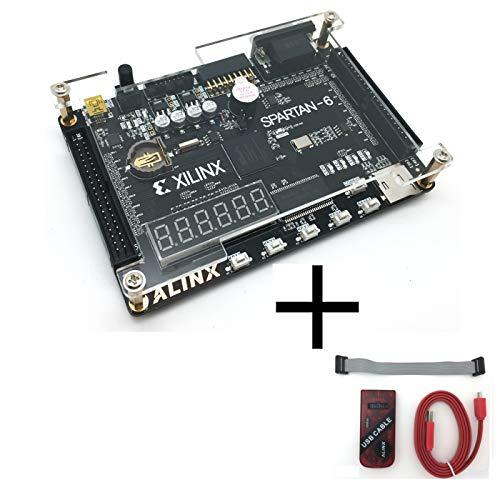 هیئت مطالعه ALINX نام تجاری XILINX Spartan-6 برای مبتدیان XC6SLX9 هیئت مدیره توسعه FPGA (کابل بارگیری USB بستر های نرم افزاری FPGA USB)