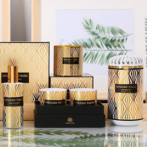 Fragrance SprayRose Aromatherapy Essential Oil Candle Set Fragrance Spray Set