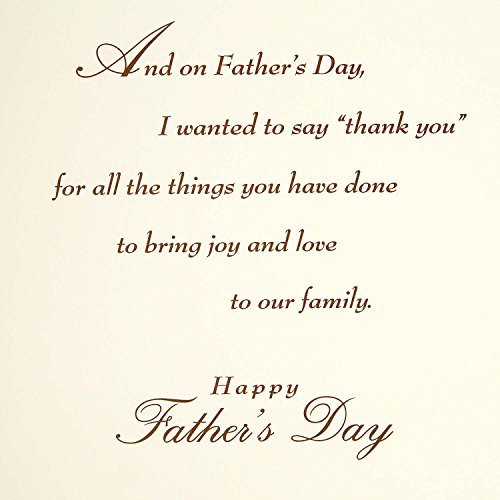 Hallmark Father's Day Greeting Card for Husband (Thank You) Photo #6