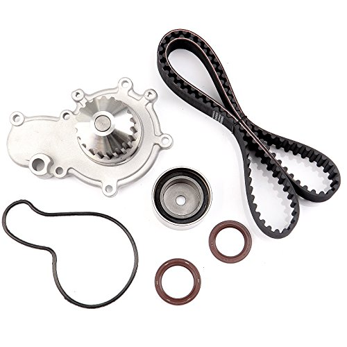 cciyu Timing Belt Water Pump with Gasket Tensioner Bearing Fits 1995-2005 Chrysler Neon Cirrus Dodge Neon Stratus Plymouth Neon Breeze 2.0L L4 SOHC 16 Valve VIN Code C Dodge Neon Sohc Engine
