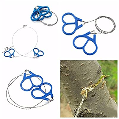 Outdoor Emergency Stainless Steel Scroll Wire Saw Hiking Camp Survival Tools by EDCGEAR
