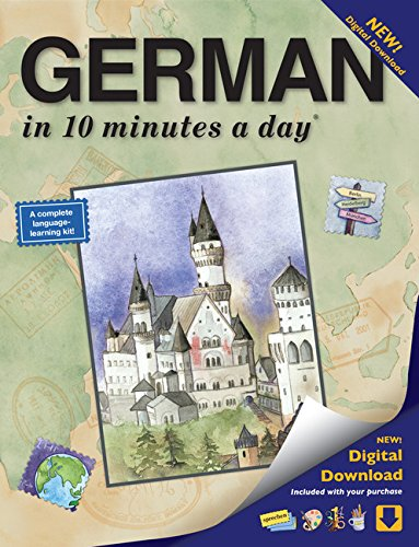GERMAN in 10 minutes a day: Lang...