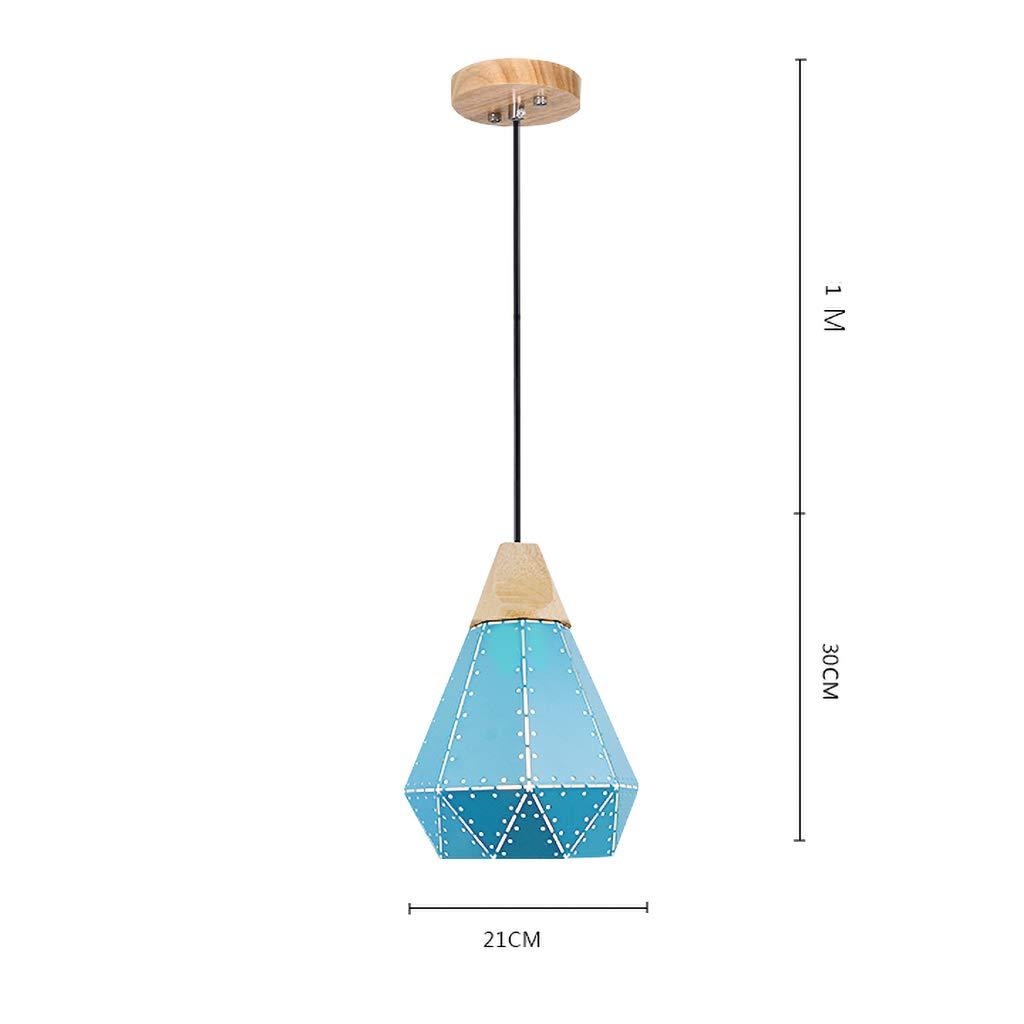 ペンダントライト シャンデリアアイロンシンプルなホームレストランバーバーカウンターカフェデコレーションシャンデリア (色 : B, サイズ さいず : 30センチメートル) B07S2DNMP8 B 30センチメートル