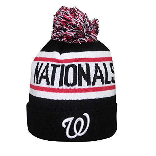 675ca10ccde1c6 Adult MLB - WASHINGTON NATIONALS Winter Hat / Beanie with ...