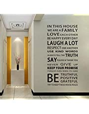 AP English Words 3D Wall Sticker Original Design DIY Friendly Words Wall Decal Home Decoration