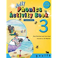 Jolly Phonics Activity Book 3: In Print Letters (American English Edition)