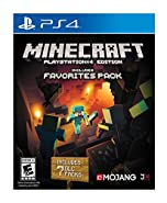 PS4 Minecraft Favorites - PlayStation 4