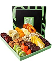 Nut and Dried Fruit Gift Tray, Healthy Snack Gift Box, Great Gift for The Health Conscious Individual - Oh! Nuts