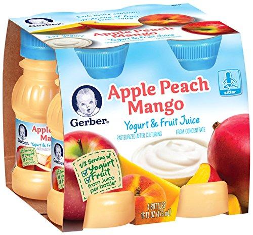 Gerber Juice - Peach Mango Apple - 4 fl oz - 4 pk