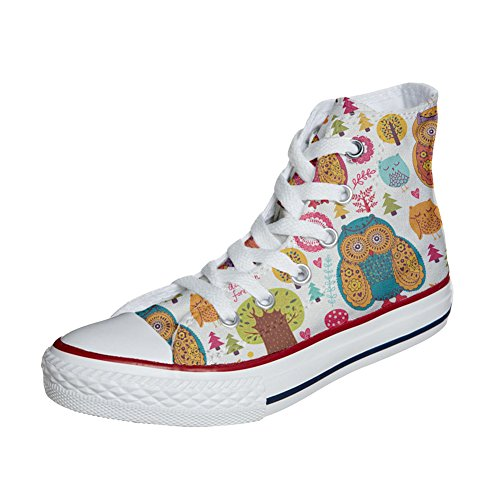 Converse All Star Customized Unisex - zapatos personalizados (Producto Artesano) Autumn Forest