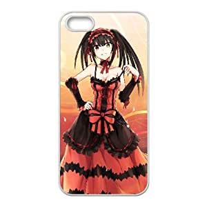 Kurumi Tokisaki Date A Live iPhone 5 5s Cell Phone Case White xlb-146102