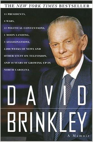 A Memoir David Brinkley