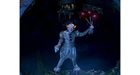 Amazon.com: Party City Animated Floating Pennywise, It ...