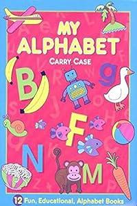 Hardcover My Alphabet Carry Case Book